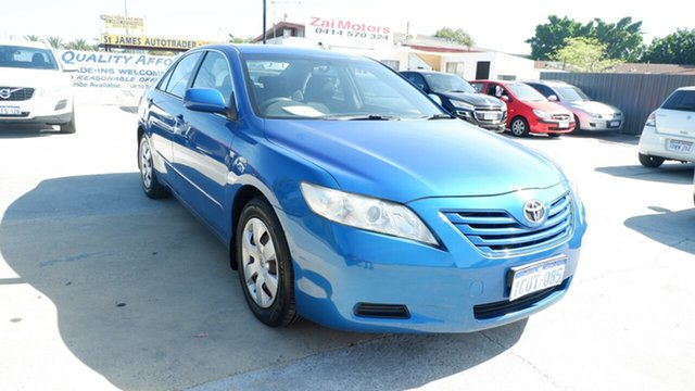 Used Toyota Camry ACV40R Altise St James, 2007 Toyota Camry ACV40R Altise Blue 5 Speed Automatic Sedan