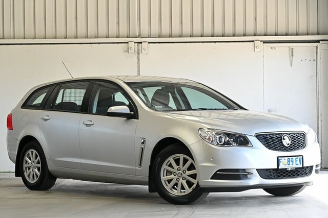 Used Holden Commodore VF II MY16 Evoke Sportwagon Laverton North, 2016 Holden Commodore VF II MY16 Evoke Sportwagon Silver 6 Speed Sports Automatic Wagon