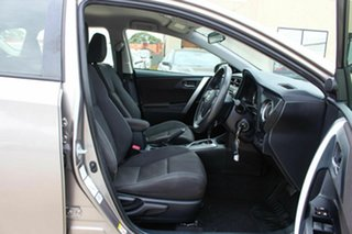 2013 Toyota Corolla ZRE182R Ascent S-CVT Brown 7 Speed Constant Variable Hatchback