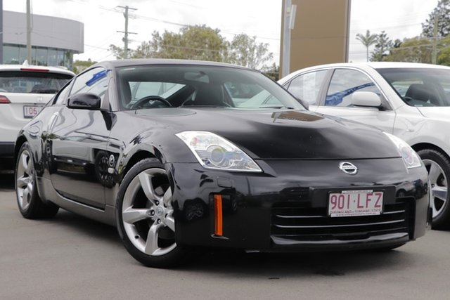 Used Nissan 350Z Z33 MY07 Touring Aspley, 2008 Nissan 350Z Z33 MY07 Touring Black 5 Speed Sports Automatic Coupe