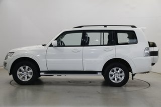 2019 Mitsubishi Pajero NX MY19 GLX White 5 Speed Sports Automatic Wagon.
