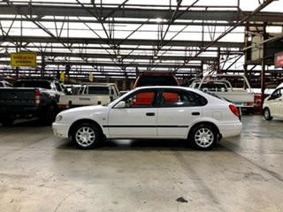 2001 Toyota Corolla AE112R Ascent White 4 Speed Automatic Liftback