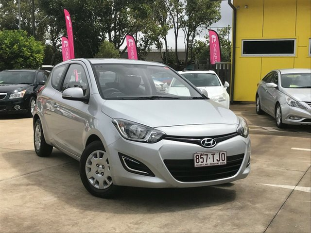 Used Hyundai i20 PB MY13 Active Toowoomba, 2013 Hyundai i20 PB MY13 Active Silver 6 Speed Manual Hatchback