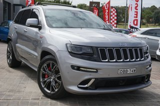 2014 Jeep Grand Cherokee WK MY2014 SRT Silver 8 Speed Sports Automatic Wagon.