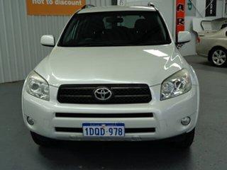 2006 Toyota RAV4 ACA33R Cruiser White 4 Speed Automatic Wagon.