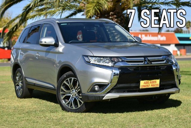 Used Mitsubishi Outlander ZK MY18 LS AWD Safety Pack Cheltenham, 2017 Mitsubishi Outlander ZK MY18 LS AWD Safety Pack Silver 6 Speed Sports Automatic Wagon