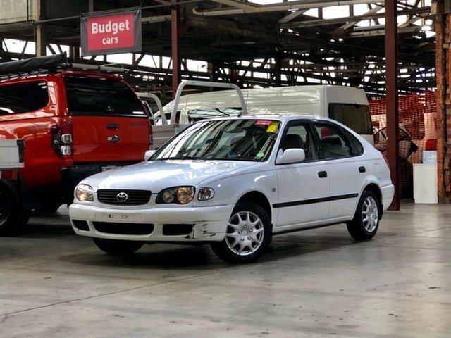 Used Toyota Corolla AE112R Ascent Mile End South, 2001 Toyota Corolla AE112R Ascent White 4 Speed Automatic Liftback