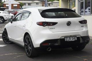 2020 Mazda 3 BP2HHA X20 SKYACTIV-Drive Astina Snowflake White Pearl 6 Speed Sports Automatic.