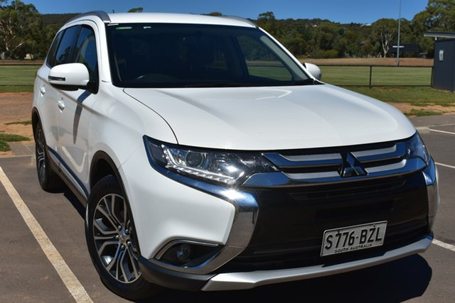 Used Mitsubishi Outlander ZJ MY14.5 LS 2WD St Marys, 2015 Mitsubishi Outlander ZJ MY14.5 LS 2WD White 6 Speed Constant Variable Wagon