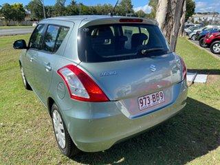 2011 Suzuki Swift FZ GA Blue 5 Speed Manual Hatchback