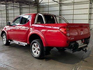 2011 Mitsubishi Triton MN MY11 GLX-R Double Cab Red 5 Speed Manual Utility