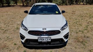 2020 Kia Cerato BD MY21 GT DCT Snow White Pearl 7 Speed Automatic Sedan.