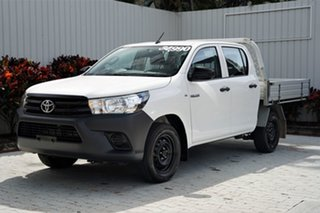 2016 Toyota Hilux TGN121R Workmate Double Cab 4x2 6 Speed Sports Automatic Utility