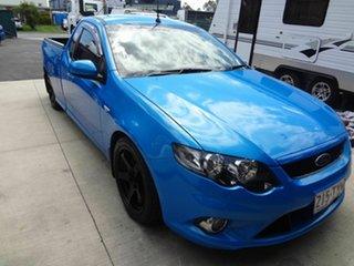 2008 Ford Falcon FG XR6 Blue 6 Speed Manual Utility.