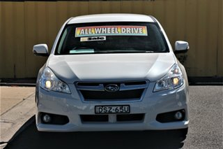 2013 Subaru Liberty B5 MY14 2.5i Lineartronic AWD White 6 Speed Constant Variable Wagon.