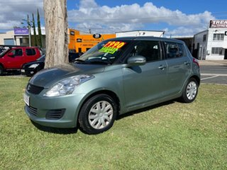 2011 Suzuki Swift FZ GA Blue 5 Speed Manual Hatchback.