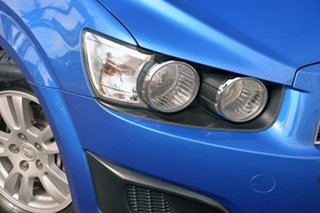 2011 Holden Barina TM Blue 6 Speed Automatic Hatchback