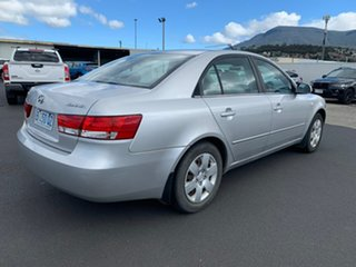 2007 Hyundai Sonata NF Silver 4 Speed Automatic Sedan