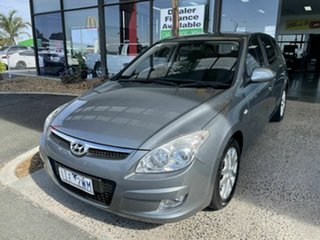 2009 Hyundai i30 FD MY10 SLX Grey 5 Speed Manual Hatchback