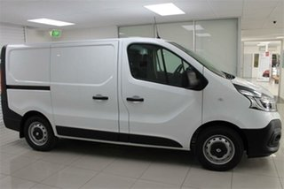 2020 Renault Trafic X82 Premium 125kW Glacier White 6 Speed Sports Automatic Dual Clutch Van.
