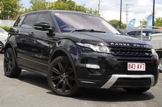2012 Land Rover Range Rover Evoque L538 MY12 SD4 CommandShift Dynamic Black 6 Speed Sports Automatic.