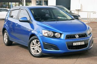 2011 Holden Barina TM Blue 6 Speed Automatic Hatchback.
