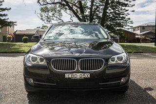 2013 BMW 5 Series F10 MY1112 535i Steptronic Black 8 Speed Sports Automatic Sedan.