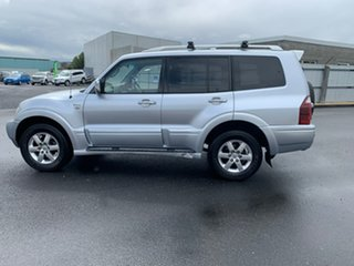 2005 Mitsubishi Pajero NP MY05 GLS Silver 5 Speed Sports Automatic Wagon