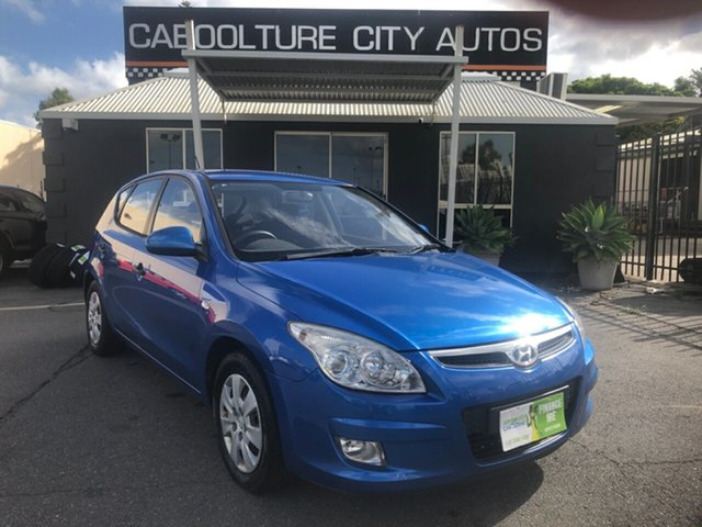 Used Hyundai i30 FD MY10 SX Morayfield, 2010 Hyundai i30 FD MY10 SX Blue 4 Speed Automatic Hatchback
