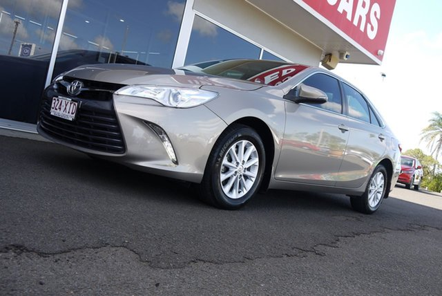 Used Toyota Camry ASV50R Altise Bundaberg, 2017 Toyota Camry ASV50R Altise Bronze 6 Speed Sports Automatic Sedan