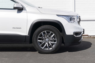 2018 Holden Acadia AC MY19 LTZ AWD Abalone White 9 Speed Sports Automatic Wagon