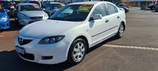 2007 Mazda 3 BK10F2 Neo Pearl White 4 Speed Sports Automatic Sedan