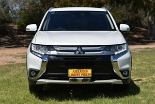 2016 Mitsubishi Outlander ZK MY17 LS 4WD Safety Pack White 6 Speed Sports Automatic Wagon.