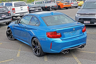 2017 BMW M2 F87 D-CT Blue 7 Speed Sports Automatic Dual Clutch Coupe.