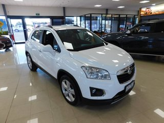 2014 Holden Trax TJ MY14 LTZ White 6 Speed Automatic Wagon.