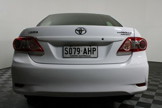2010 Toyota Corolla ZRE152R Ascent White 4 Speed Automatic Sedan