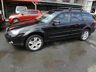 2004 Subaru Outback MY04 2.5i AWD Black 4 Speed Auto Elec Sportshift Wagon