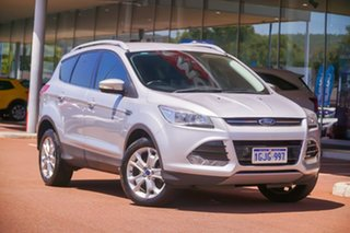 2016 Ford Kuga TF MY16.5 Trend AWD Silver 6 Speed Sports Automatic Wagon.