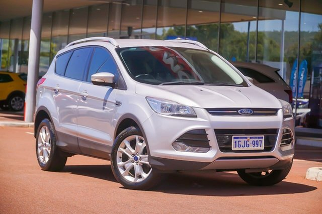 Used Ford Kuga TF MY16.5 Trend AWD Gosnells, 2016 Ford Kuga TF MY16.5 Trend AWD Silver 6 Speed Sports Automatic Wagon