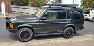 2002 Land Rover Discovery TD5 (4x4) Green 4 Speed Automatic 4x4 Wagon