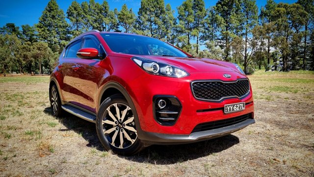 Used Kia Sportage QL MY16 SLi 2WD Nuriootpa, 2016 Kia Sportage QL MY16 SLi 2WD Fiery Red 6 Speed Sports Automatic Wagon