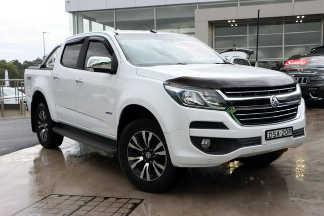 Used Holden Colorado RG MY17 LTZ Pickup Crew Cab Liverpool, 2016 Holden Colorado RG MY17 LTZ Pickup Crew Cab White 6 Speed Sports Automatic Utility
