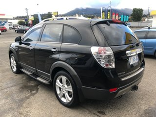 2012 Holden Captiva CG Series II 7 SX Black 6 Speed Sports Automatic Wagon