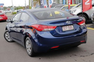 2012 Hyundai Elantra MD Active Blue 6 Speed Sports Automatic Sedan.