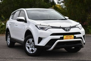 2016 Toyota RAV4 ALA49R GX AWD White 6 Speed Sports Automatic Wagon.