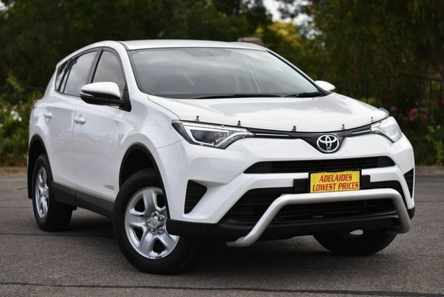 Used Toyota RAV4 ALA49R GX AWD Enfield, 2016 Toyota RAV4 ALA49R GX AWD White 6 Speed Sports Automatic Wagon