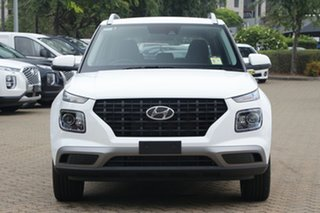 2020 Hyundai Venue QX.V3 MY21 Active Polar White 6 Speed Automatic Wagon