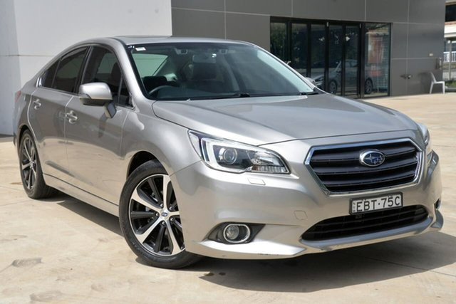 Used Subaru Liberty B6 MY15 2.5i CVT AWD Premium Tuggerah, 2015 Subaru Liberty B6 MY15 2.5i CVT AWD Premium Silver 6 Speed Constant Variable Sedan
