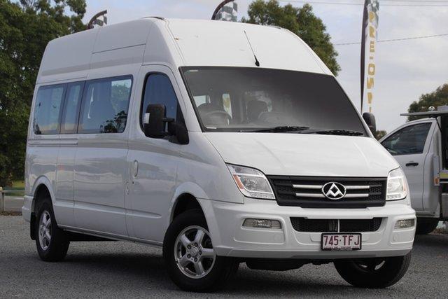 Used LDV V80 Low Roof SWB Beaudesert, 2014 LDV V80 Low Roof SWB White 6 Speed Automated Manual Bus