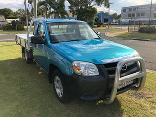 2010 Mazda BT-50 09 Upgrade Boss B2500 DX Blue 5 Speed Manual Cab Chassis